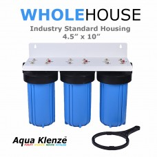 BB10-T Triple Big Blue Filter Housing System Filter HousingBB10-TDirect Water Filters