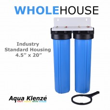 BB20 4.5 x 20 Inch Double Water Filter Housing  Filter HousingBB20-DDirect Water Filters