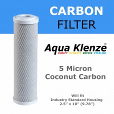 5 Micron Coconut Carbon Block BlancoCCB5Direct Water Filters