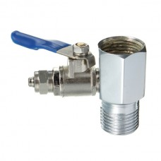 """1/2"""" Feed Water Connector and 1/4"""" Pushfit Filter Connector Valve AccessoriesFWV-12-14Direct Water Filters"""