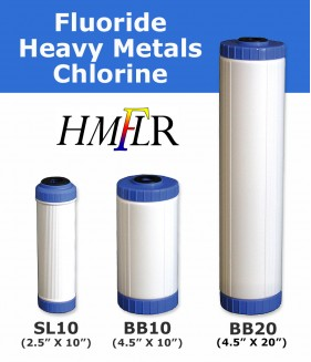 Fluoride, Heavy Metal & Chlorine Filter Cartridge