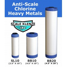 iXC Anti Scale Inhibitor & Chlorine Filter Cartridge Standard Water FiltersiXCDirect Water Filters
