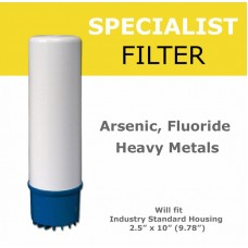 Fluoride, Arsenic and Heavy metals Removal  Filter Cartridge  Standard Water FiltersFLARDirect Water Filters