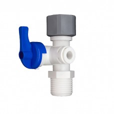 "1/2"" Feed Water Connector and 1/4"" Pushfit Filter Connector Valve AccessoriesFWV-12-14Direct Water Filters"