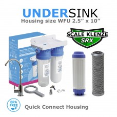 Limescale & Chlorine Removal Double Deluxe Water Filtration System   Bad Taste & OdoursSL10-SRX-CB5SDirect Water Filters