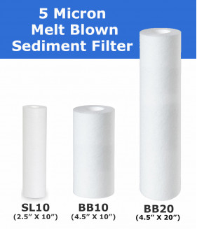 5 Micron Sediment Filter