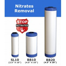 Nitrates Removal Water Filter Cartridge Standard Water FiltersNITRDirect Water Filters