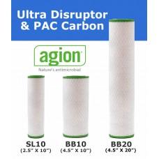 Ultra Disruptor PAC + Replacement Filter Cartridge  Standard Water Filters UDPAC EcoCeram
